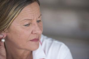Efekt léčby karcinomu středního plicního laloku vpravo u 65leté pacientky